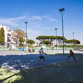 Pine Cliffs Tennis all weather court